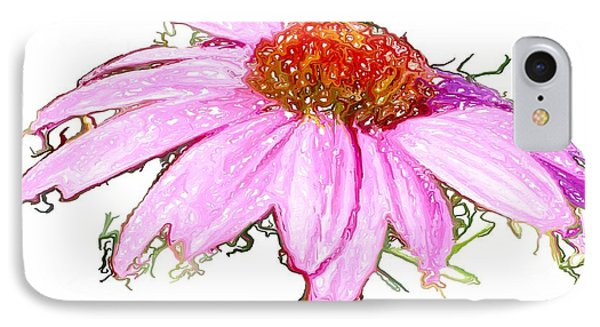 IPhone Case featuring the photograph  Wild Flower Three by Heidi Smith
