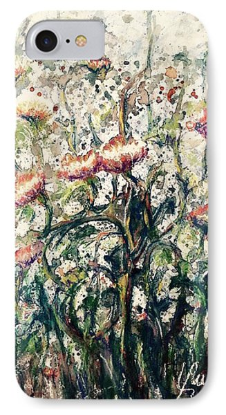 Wild Flowers # 2 IPhone Case