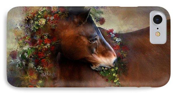 Wild Flowers IPhone Case by Dorota Kudyba