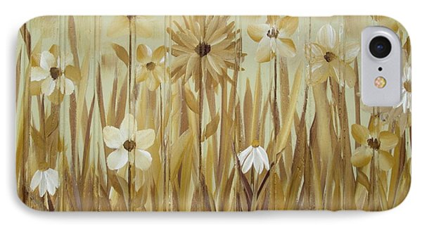 IPhone Case featuring the painting Wild Flowers by Kathy Sheeran