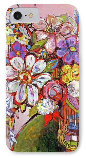 Wild Flowers IPhone Case by Sharon Furner
