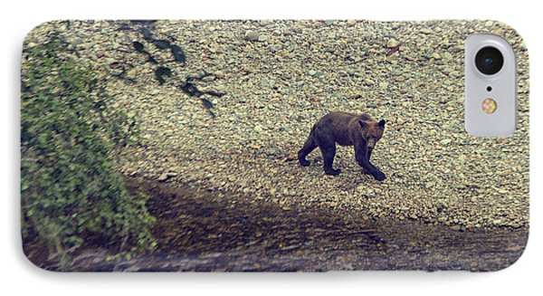 Wild Grizzly Bear IPhone Case by Patricia Hofmeester