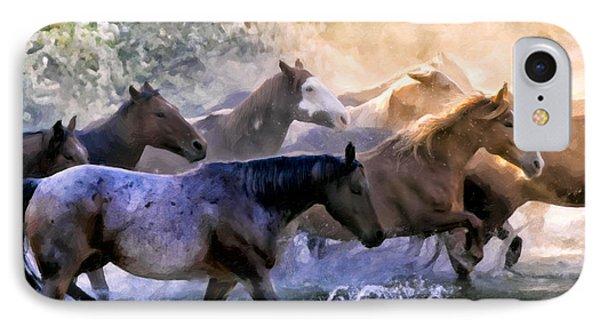 Wild Herd Phone Case by Janet Fikar