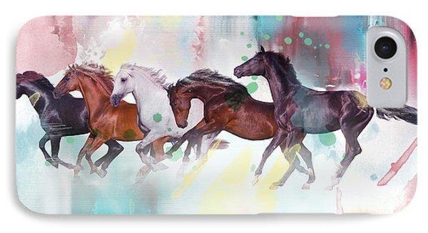 Wild Horse  IPhone Case by Mark Ashkenazi