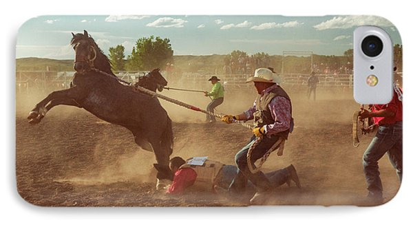 Wild Horse Race IPhone Case by Todd Klassy