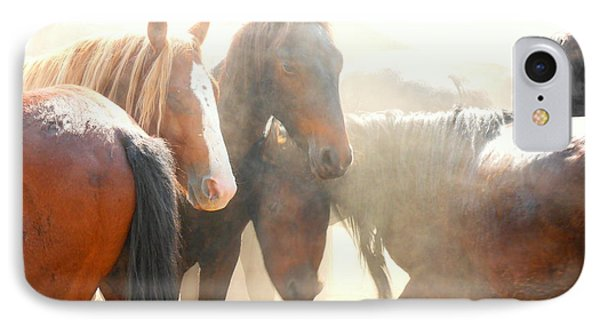 Wild Horses - Australian Brumbies 2 IPhone Case by Lexa Harpell