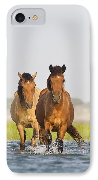 Wild Horses IPhone Case by Bob Decker