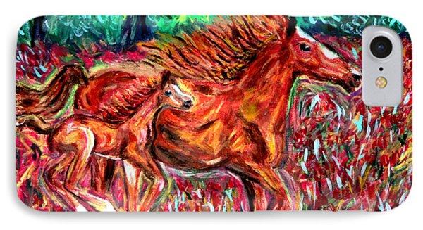 Wild Horses IPhone Case by Debbie Davidsohn