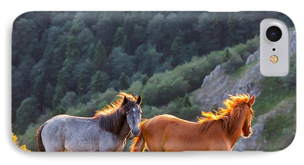Wild Horses Phone Case by Evgeni Dinev