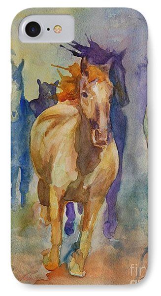 Wild Horses Phone Case by Gretchen Bjornson