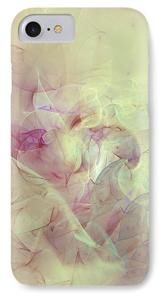 Wild Orchids Abstract IPhone Case by Georgiana Romanovna