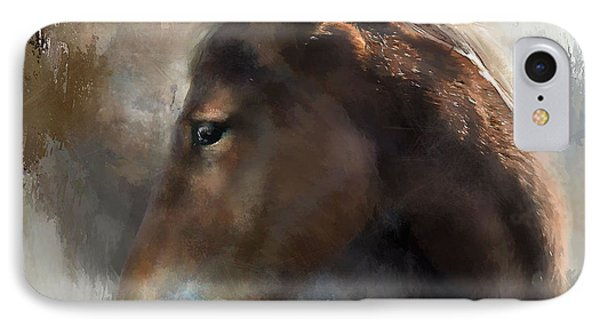 Wild Pony IPhone Case by Kathy Russell