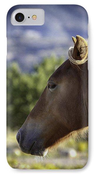 Wild Profile IPhone Case by Elizabeth Eldridge