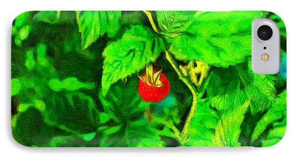 Wild Raspberry - Pa IPhone Case by Leonardo Digenio