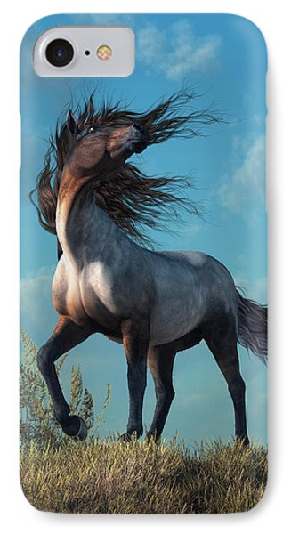 Wild Roan IPhone Case by Daniel Eskridge