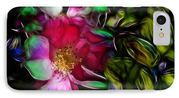 Wild Rose - Colors IPhone Case by Stuart Turnbull