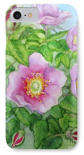 Wild Rose 3 IPhone Case by Inese Poga