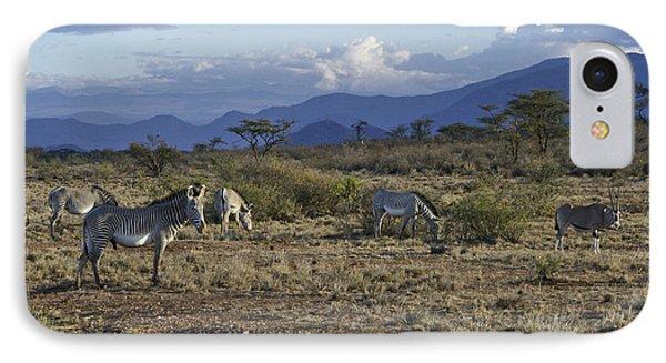 Wild Samburu Phone Case by Michele Burgess