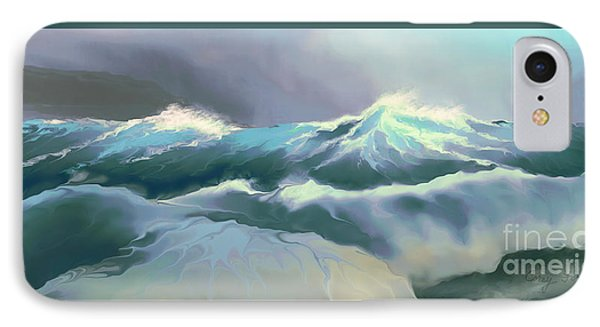 Wild Sea Phone Case by Corey Ford