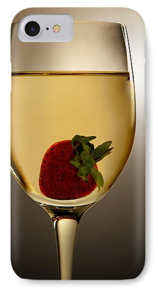 IPhone Case featuring the photograph Wild Strawberry by Joe Bonita