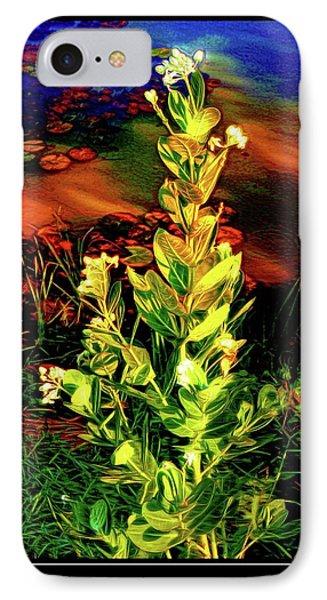 Wild Thai Lake Jasminum - Photo Painting IPhone Case by Ian Gledhill