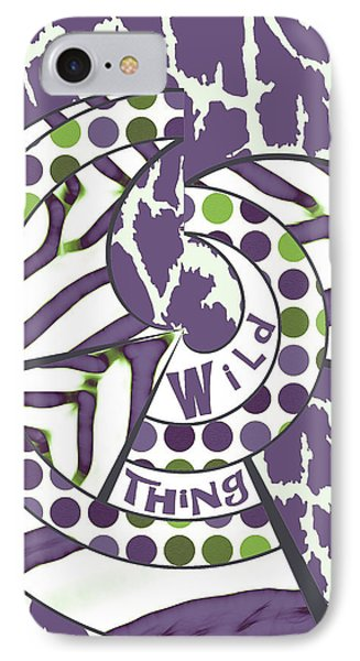 Wild Thing IPhone Case by Methune Hively