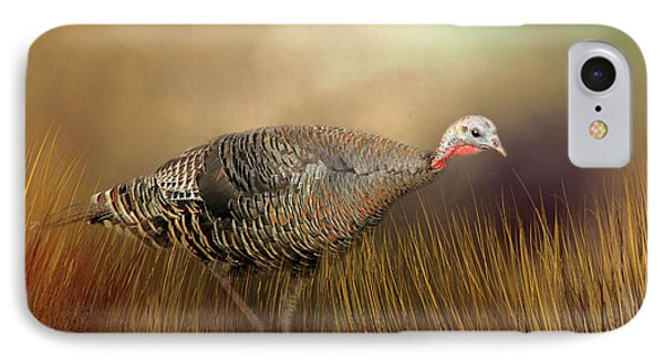 Wild Turkey Hen IPhone Case