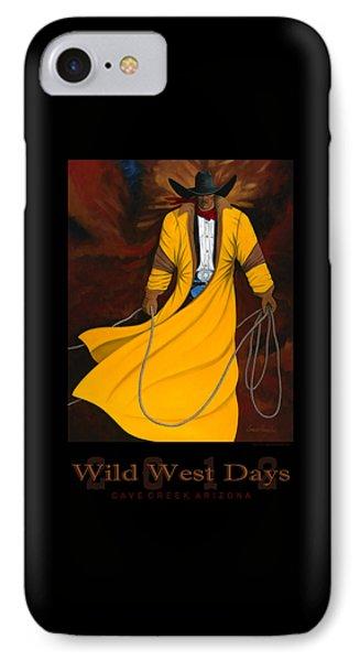 Wild West Days 2012 IPhone Case