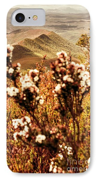 Wild West Mountain View IPhone Case by Jorgo Photography - Wall Art Gallery