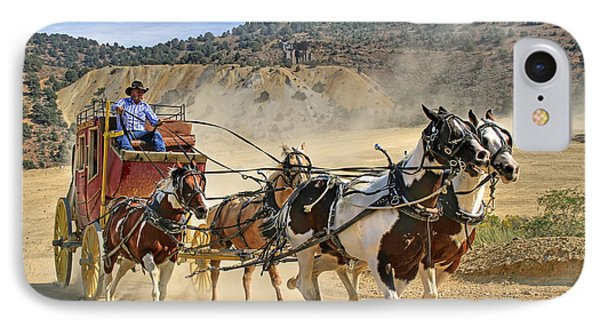 Wild West Ride IPhone Case by Donna Kennedy