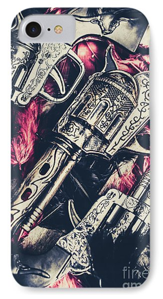 Wild West Weapons  IPhone Case by Jorgo Photography - Wall Art Gallery