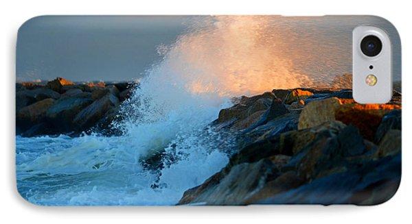 Wild Winter Morning - Cape Cod Bay IPhone Case by Dianne Cowen