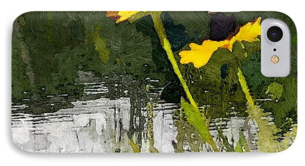Wild Yellow Coneflowers 23 IPhone Case by Don Berg