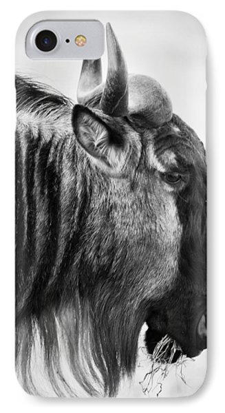 Wildebeest Phone Case by Adam Romanowicz