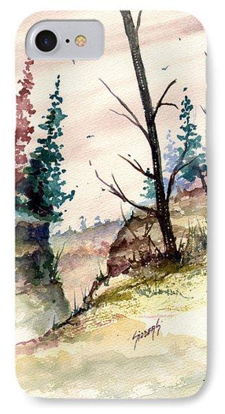 Wilderness II IPhone Case by Sam Sidders