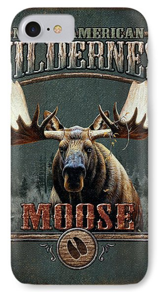 Wilderness Moose IPhone Case by JQ Licensing