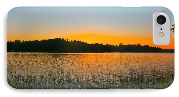 Wilderness Point Sunset Panorama IPhone 7 Case