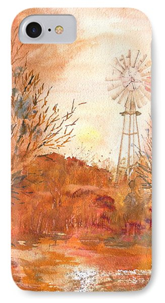 Wilderness Windmill IPhone Case by Sharon Mick