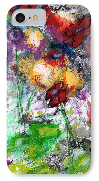 Wildest Flowers- Art By Linda Woods IPhone Case by Linda Woods