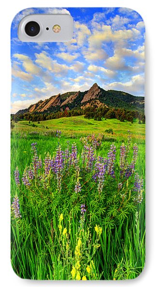 Wildflower Colors IPhone Case by Scott Mahon
