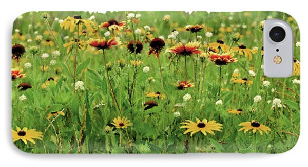 Wildflower Meadow Phone Case by JQ Licensing