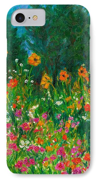 Wildflower Rush IPhone Case by Kendall Kessler