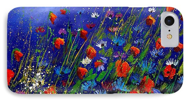 Wildflowers 78 Phone Case by Pol Ledent