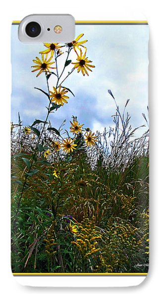 IPhone Case featuring the photograph Wildflowers And Mentor Marsh by Joan  Minchak
