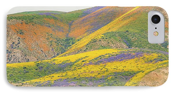 IPhone Case featuring the photograph Wildflowers At The Summit by Marc Crumpler