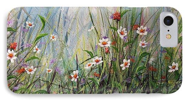 Wildflowers Phone Case by Dee Carpenter