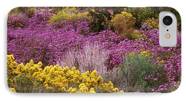 Wildflowers El Prado Nm IPhone Case by Panoramic Images