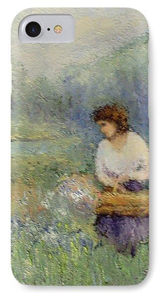 Wildflowers Phone Case by Gail Kirtz