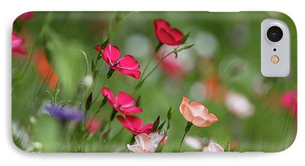 Wildflowers Meadow IPhone Case