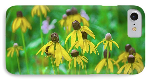 IPhone Case featuring the photograph Wildflowers Of Yellow by Bill Pevlor